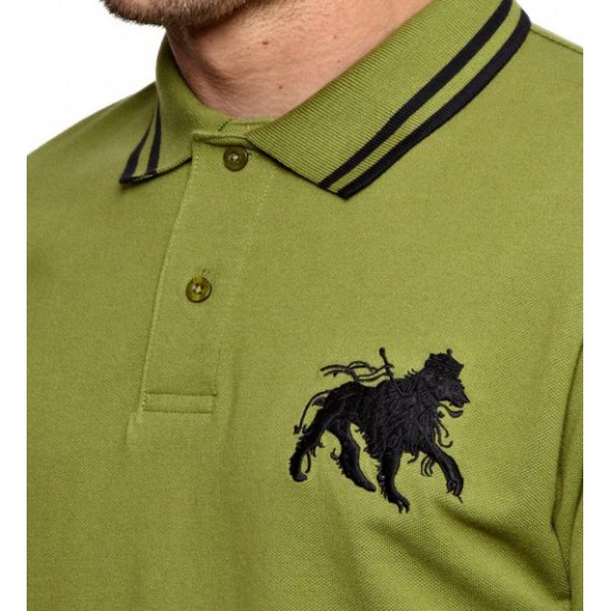 Military Tipped Polo