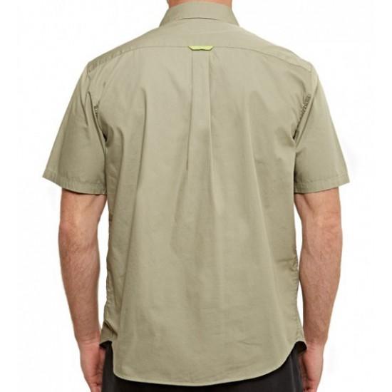 Contrast Pocket Shirt Khaki