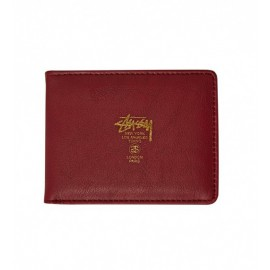 CLC Bi-Fold Wallet Burgundy