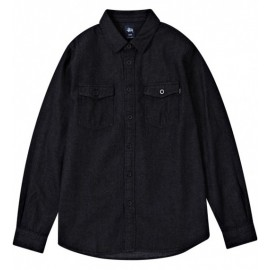 Classic Denim Shirt Black