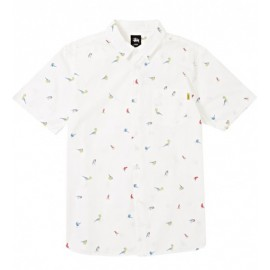 Birds Shirt Off White