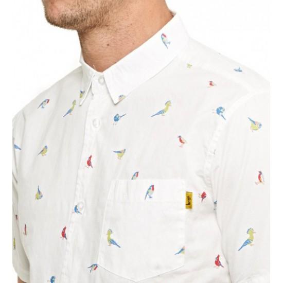 Birds Shirt Off White