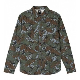 Cheetah Camo Shirt Navy