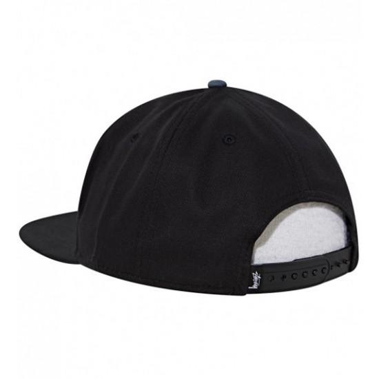 2 Tone Arch Cap Black