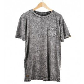 Granite Wash Pocket Tee