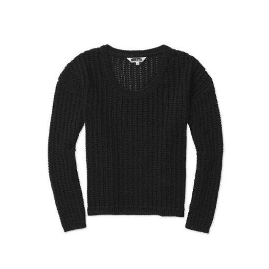 Holy Knit Jet Black