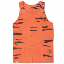 Tiger Stripe Tank Orange
