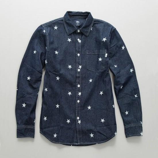 Big Stars Shirt Indigo