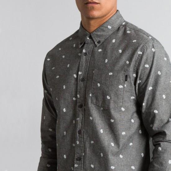 Paisley Shirt Black