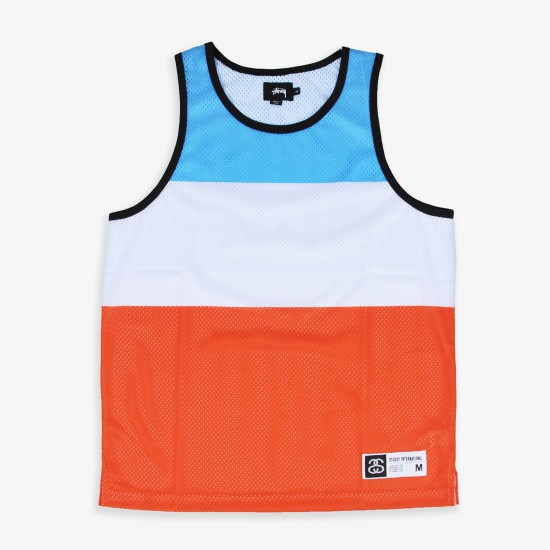 Track & Field Tank Light Blue