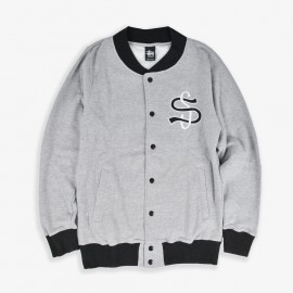 Big League Fleece Jacket Heather Grey