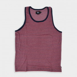 Waffle Tank Red