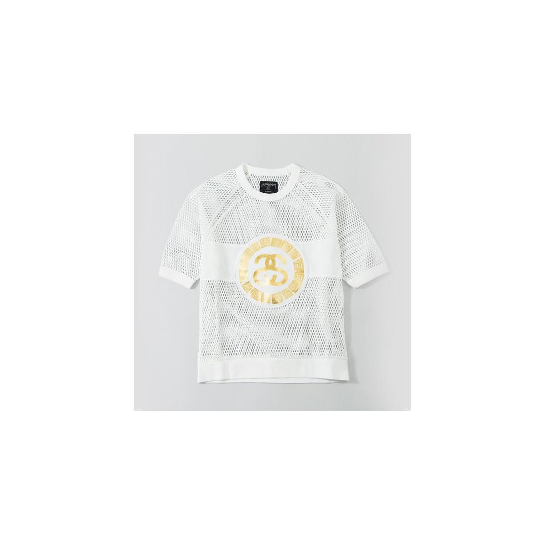 dce951707bbef Women s urban wear Sweatshirts Stüssy Mesh Sweatshirt White