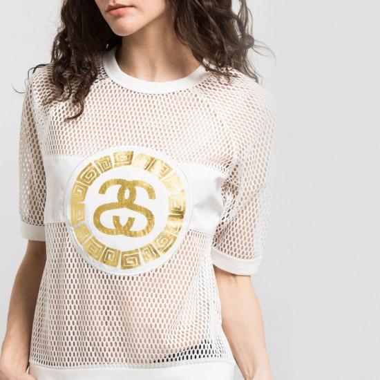 Mesh Sweatshirt White