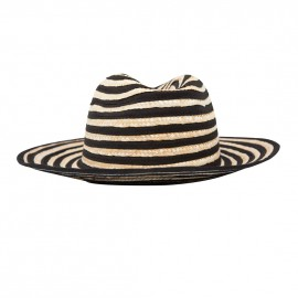 Teguise Hat Natural Black