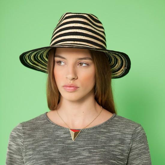 Teguise Hat Natural Black