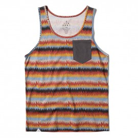 Peyote Pocket Tank Gold