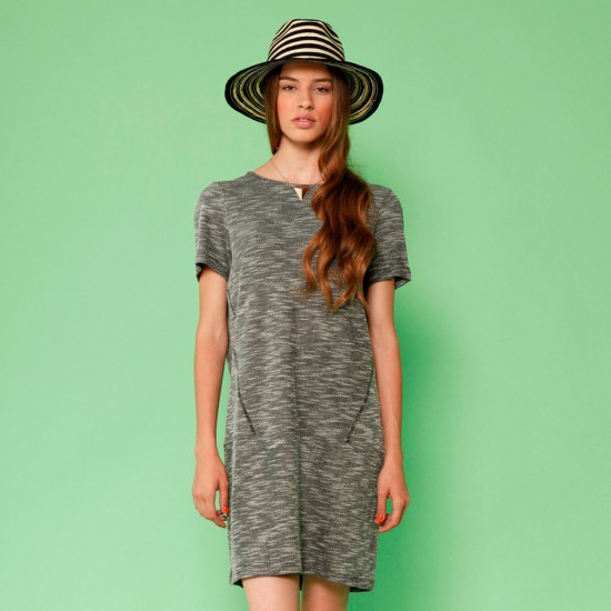 Hamaika Dress Heather Black