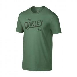 Oakley Legs Reverse Tee Light Green White