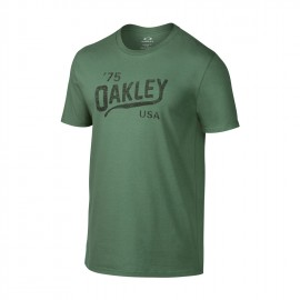 Oakley Legs Reverse Tee Light Green White