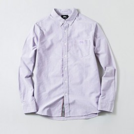 Bad Boy Oxford Shirt Purple