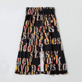 Jungle City Skirt Black