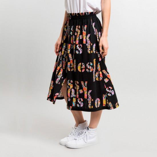 Jungle City Skirt Black