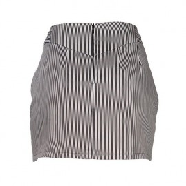 Abadie Striped Skirt