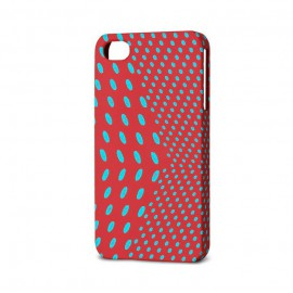 Polka Dot iPhone Case Red