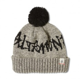 Vessel Pom Beanie Grey Heather