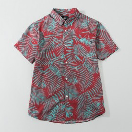 Palm Shirt Red