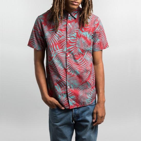 Palm Shirt Red