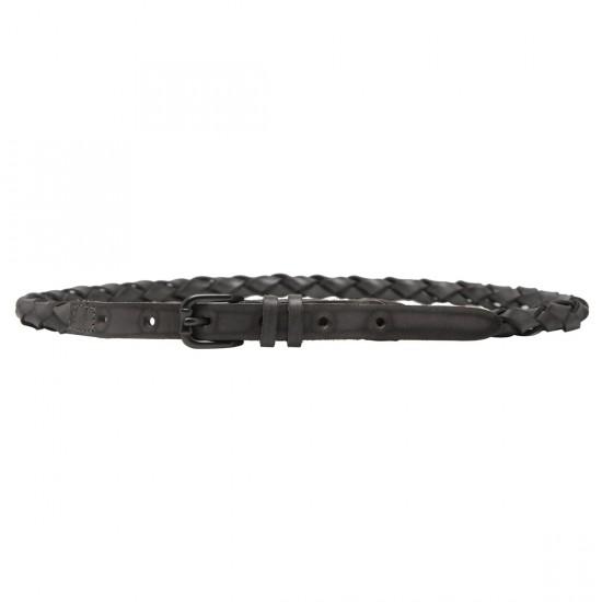 Latigo Leather Belt Grey