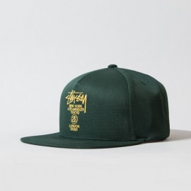 World Tour Lux Strapback Forest