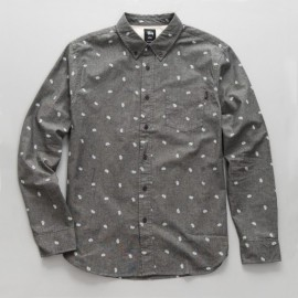 Paisley Shirt Black
