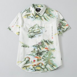 China World Tribe Shirt Natural