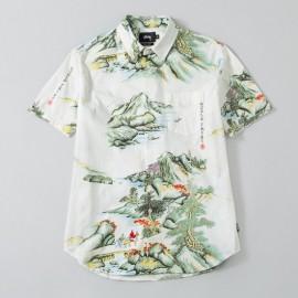 China World Tribe Shirt Natural