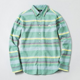 Big Stripe Shirt Green