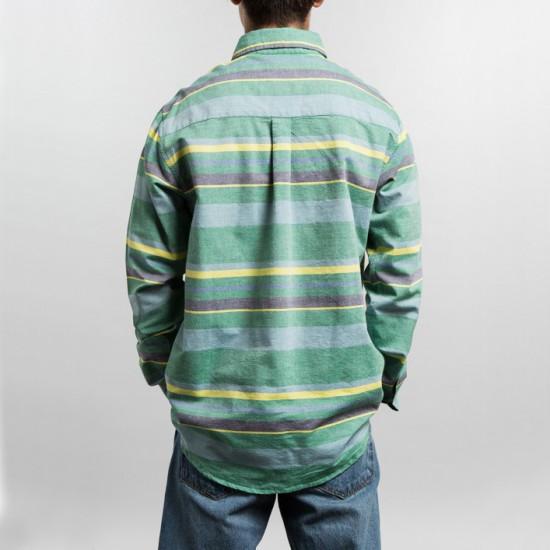 Big Stripe Shirt Green