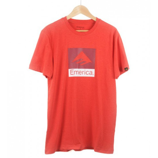 Combo 10 Tee Red/Heather