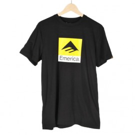 Combo 10 Tee Black Yellow