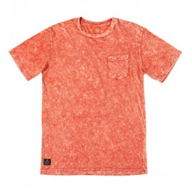 Granite Wash Pocket Tee Orange