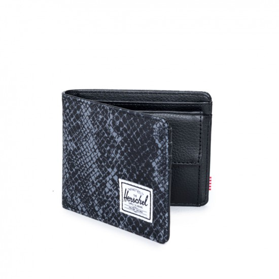 Hank Wallet Coin Black Snake/Black