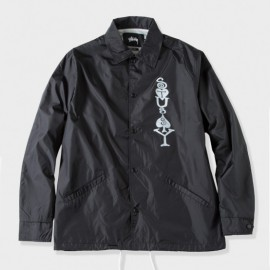 Player Coaches Jacket Black