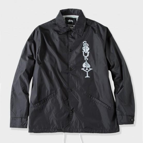 ab2a1cf08 Men's Jackets Stüssy Jackets Stüssy Player Coaches Jacket Black