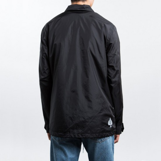 4ee98df30 Player Coaches Jacket Black Player Coaches Jacket Black. « Back to men- jackets