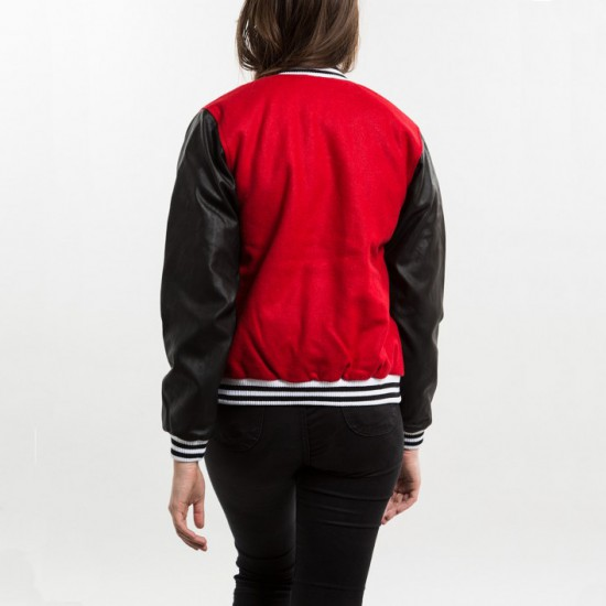 Lettermans Jacket Red