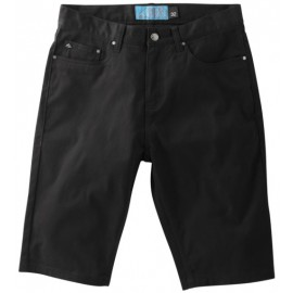 HSU Twill Short Black Wash
