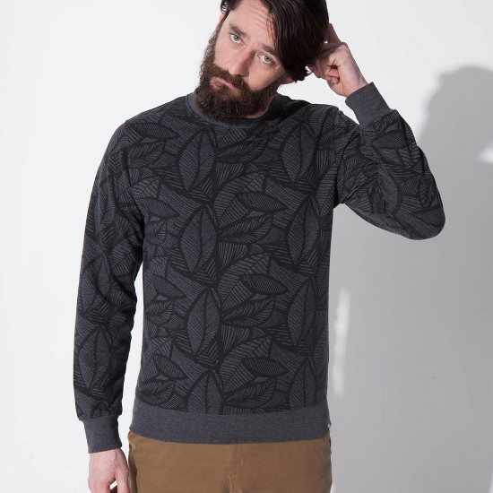 Gaztan Sweatshirt Heather Black
