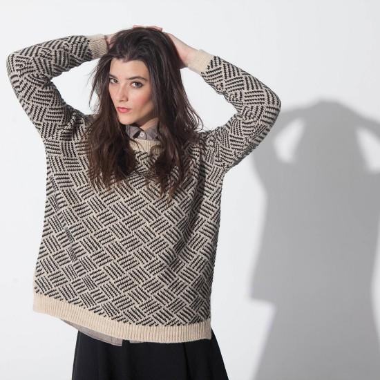 Berrotaran Sweater Natural Black